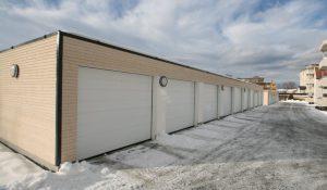 Oppføring av garasjer for Strindbo borettslag