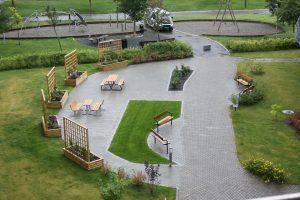oppgradering av uteområde, Rosenborg Park