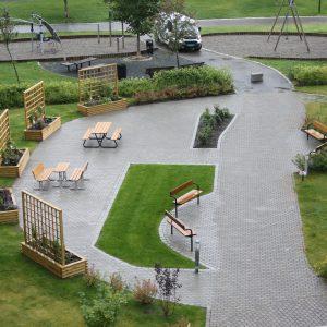 Uteområde – Rosenborg Park
