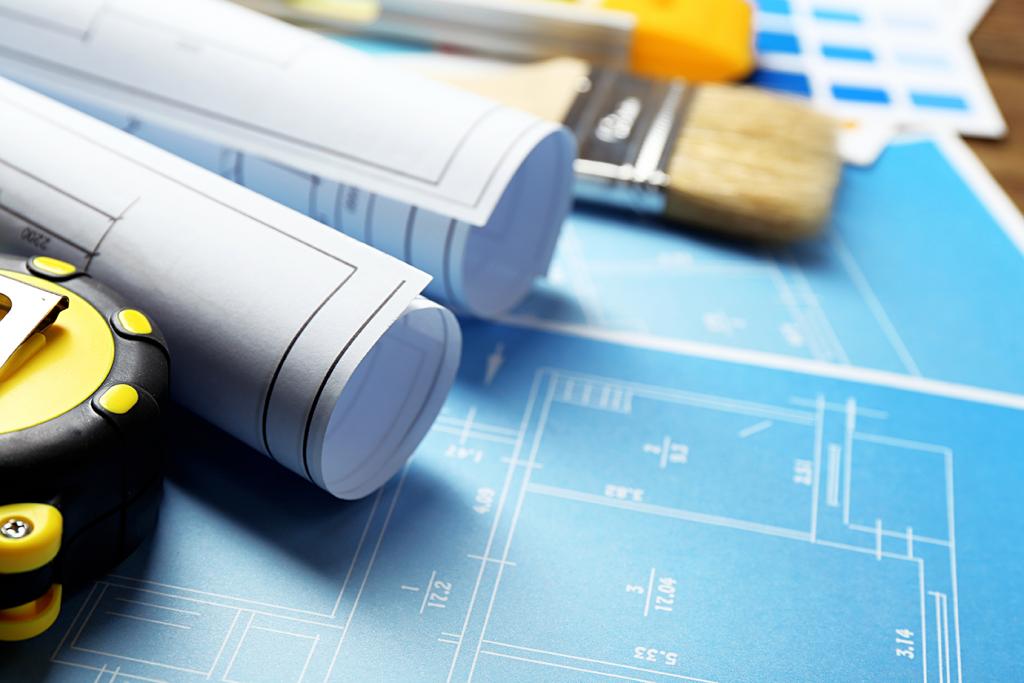 Byggtegninger og verktøy